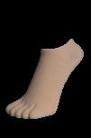 Zehenfüsslinge, Sneakers, Farbe natur 35 - 41