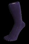 Zehensocken, unifarben, marineblau, Grösse 42 - 48
