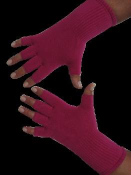 Kurzfinger-Handschuhe, Farbe pink S