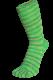 Zehensocken, Batikeffekt, Apfelgrün-Batik
