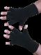 Kurzfinger-Handschuhe, Farbe schwarz XS