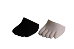 Cloggys, 2er-Set, schwarz und weiss, 1/4 Socke 42 - 48
