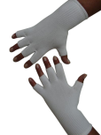 Kurzfinger-Handschuhe, Farbe weiss