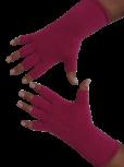 Kurzfinger-Handschuhe, Farbe pink