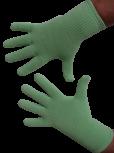 Handschuhe, Langfinger, unifarben, Mintgrün