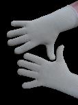 Handschuhe, Langfinger, unifarben, Natur, Beige