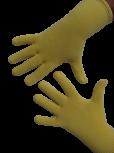 Handschuhe, Langfinger, unifarben, Zartgelb (Vanille)