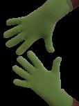 Handschuhe, Langfinger, unifarben, Lindgrün